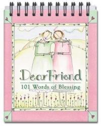 9781591773153: Dear Friend: 101 Words of Blessing