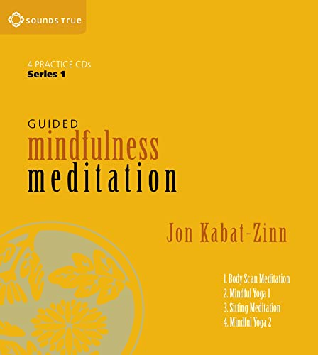 9781591793595: Guided Mindfulness Meditation Series 1: A Complete Guided Mindfulness Meditation Program from Jon Kabat-Zinn