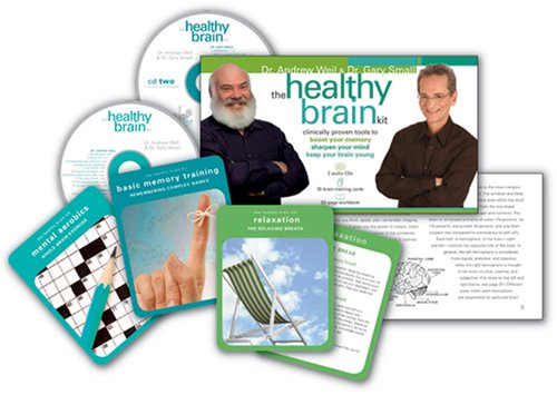 9781591795308: The Healthy Brain Kit: Clinically Proven Tools to Boost Your Memory, Sharpen Your Mind, and Keep Your Brain Young