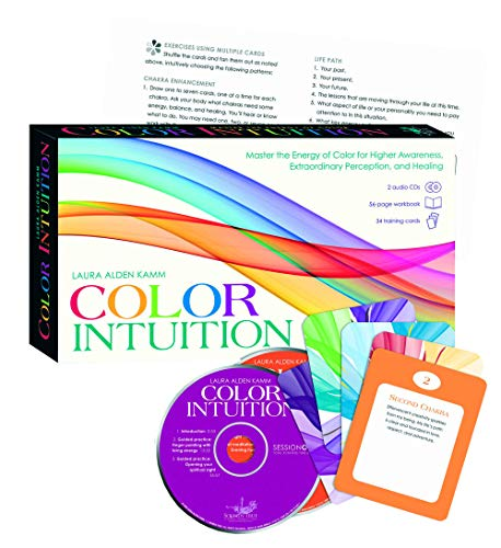 9781591796497: Color Intuition Kit: Master the Energy of Color for Higher Awareness, Extraordinary Perception, and Healing