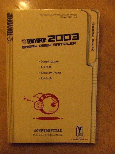 9781591824053: Tokyopop 2003 Sneak Peek Manga Sampler