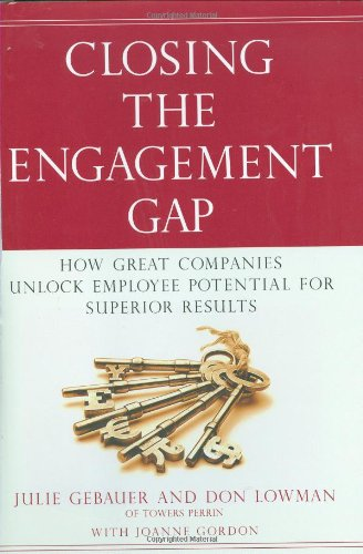9781591842385: Closing the Engagement Gap: How Great Companies Unlock Employee Potential for Superior Results