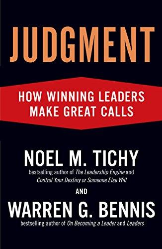9781591842934: Judgment: How Winning Leaders Make Great Calls