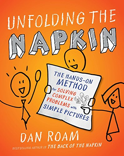 9781591843191: Unfolding the Napkin: The Hands-On Method for Solving Complex Problems with Simple Pictures