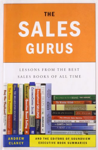 9781591843382 the sales gurus lessons from the best sales books of all time