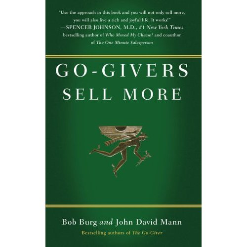 9781591843412: Go-Givers Sell More (Go-Giver)