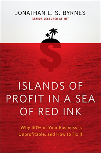 9781591843498: Islands of Profit in a Sea of Red Ink: Why 40 Percent of Your Business Is Unprofitable and How to Fix It