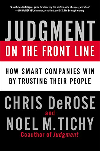 9781591843887 Judgment On The Front Line How Smart Companies Win