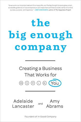 9781591844211: The Big Enough Company: Creating a Business That Works for You