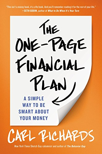 9781591847557: The One-Page Financial Plan: A Simple Way to Be Smart About Your Money