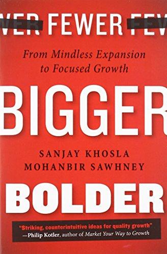 Fewer, Bigger, Bolder: n/a