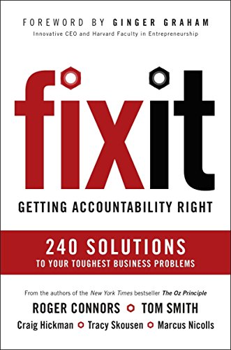 9781591847878: Fix It: Getting Accountability Right