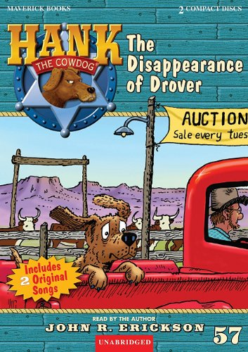9781591886570: The Disappearance of Drover (Hank the Cowdog (Audio))