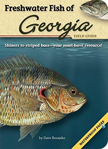 9781591932635: Freshwater Fish of Georgia Field Guide (Fish Identification Guides)