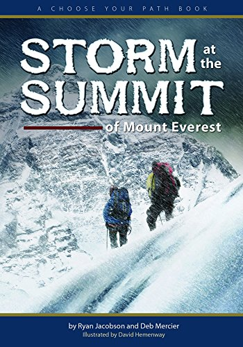 9781591932758: Storm at the Summit of Mount Everest: A Choose Your Path Book