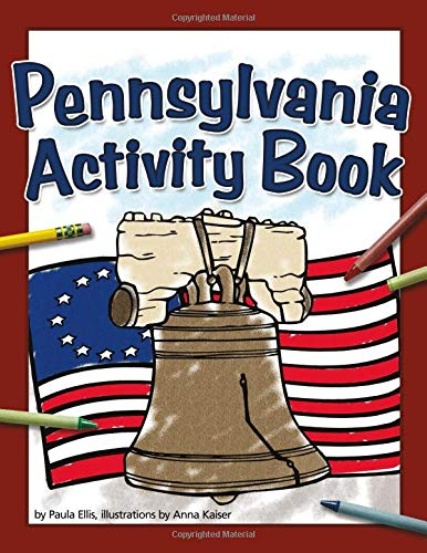 9781591933526: Pennsylvania Activity Book (Color and Learn)