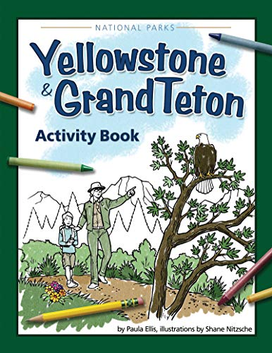 9781591933564: Yellowstone & Grand Teton Activity Book (Color and Learn)