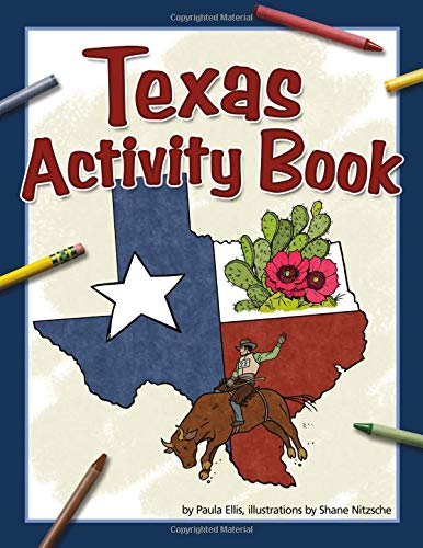 9781591933762: Texas Activity Book (Color and Learn)