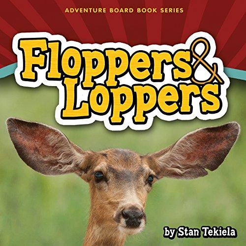 Floppers & Loppers (Adventure Boardbook Series): Stan Tekiela