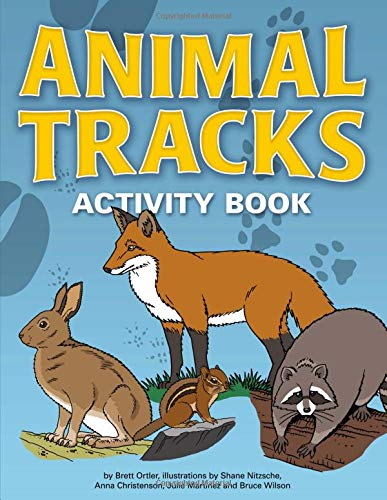 9781591935384: Animal Tracks Activity Book (Color and Learn)