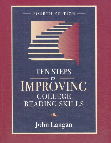 9781591940043: Ten Steps to Improving College Reading Skills