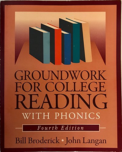 9781591940869: Groundwork for College Rdg W/Phonics 4th