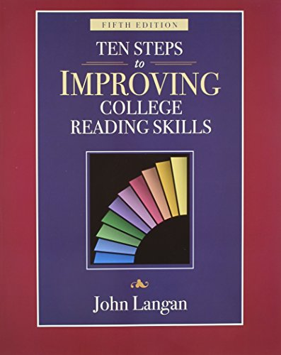 9781591940999: Ten Steps to Improving College Reading Skills, 5th Edition