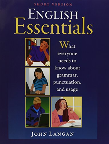 9781591941040: English Essentials: What Everyone Needs to Know About Grammar Punctuation and Usage (Short Version) Edition: First