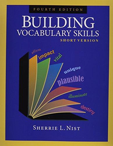 9781591941897: Building Vocabulary Skills: Short Version