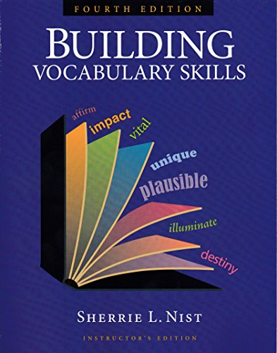 9781591941927: Building Vocabulary Skills, Instructor's Edition, Fourth Edition, 9781591941927, 159194192X, 2010
