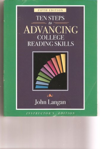 9781591942016: Ten Steps to Advancing College Reading Skills, 5th Edition, Instructor's Edition