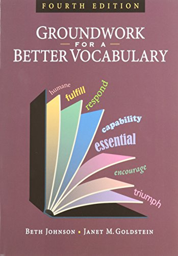 9781591942238: Groundwork for a Better Vocabulary