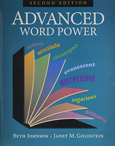 Advanced Word Power: Beth Johnson and