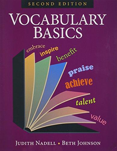 9781591942351: Vocabulary Basics