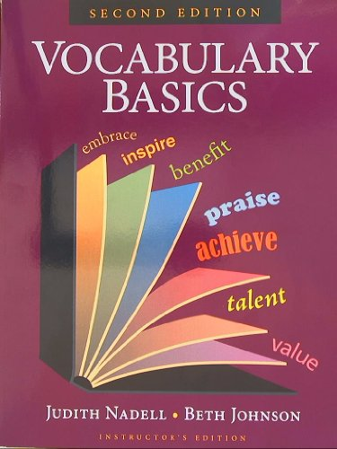 9781591942368: Vocabulary Basics, Instructor's Edition, Second Edition