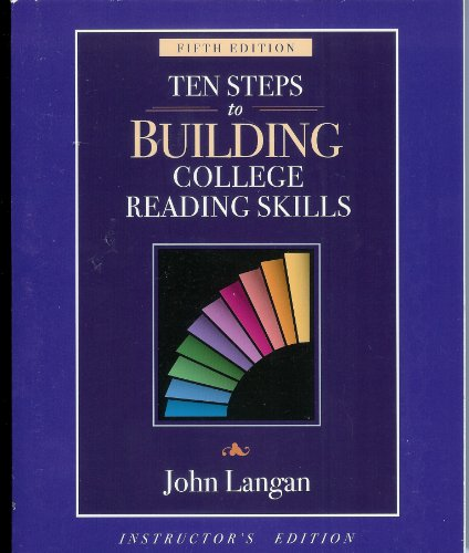 TEN STEPS TO BUILDING. >INST