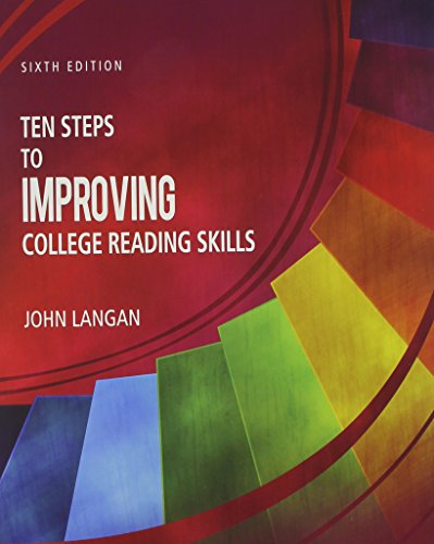 9781591944232: Ten Steps to Improving College Reading Skills