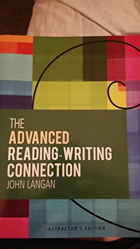 The Advanced Reading-writing Connection: John Langan