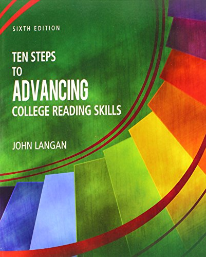 9781591944348: Ten Steps to Advancing College Reading Skills