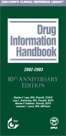 Drug Information Handbook, 2002-2003: Lacy, Charles F.,