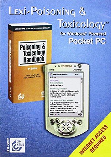 9781591950349: Lexi-Poisoning & Toxicology: Pocket PC