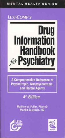 9781591950646: Drug Information Handbook for Psychiatry