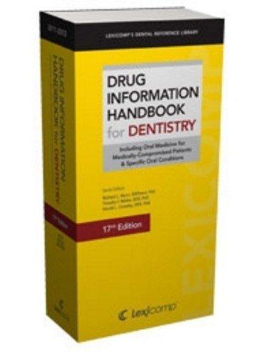 9781591952961: Drug Information Handbook for Dentistry