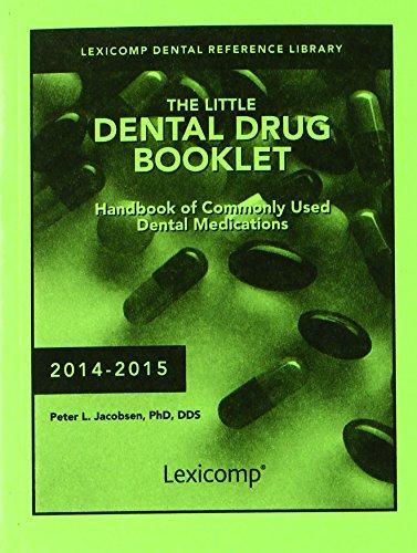 9781591953388: The Little Dental Drug Booklet