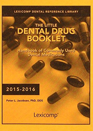9781591953487: The Little Dental Drug Booklet