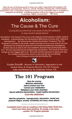 9781591965107: Alcoholism: The Cause & The Cure