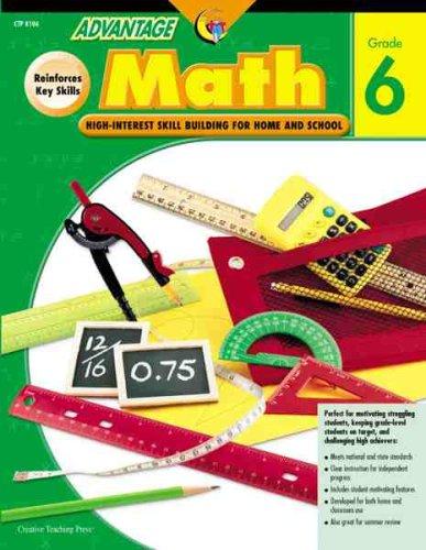 9781591980162: Math Gr. 6 (Advantage Workbooks)