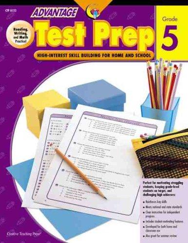 Test Prep Gr. 5 (Advantage Workbooks): Jeff Putnam