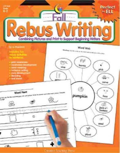 Rebus Writing-Fall, Gr. K-2: Fitzpatrick, Jo