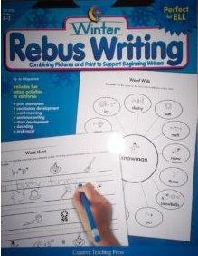Rebus Writing-Winter, Gr. K-2: Fitzpatrick, Jo